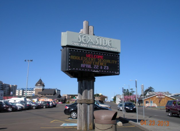 Adolescent Sexuality Conference in Seaside, OR