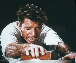 Burt Lancaster as fictitious Pentecostal evangelist fraud Elmer Gantry.