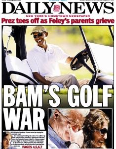 bam's golf war