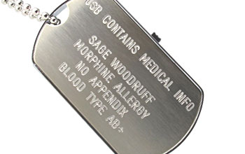 e-ALERT dog tag