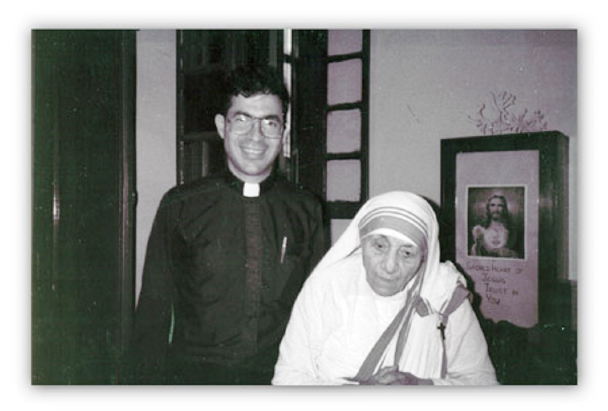 fr pavone and st teresa
